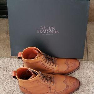 Allen Edmonds Dalton Wingtip Dress Boots (NEW!)